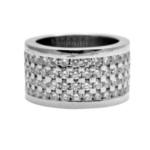 Boodles Diamond Platinum Band Ring