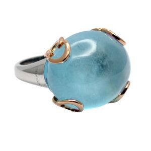 Chimento Cabochon Topaz 18ct Gold Ring
