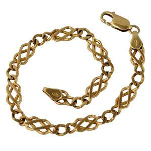 Vintage 9 Carat Gold Link Bracelet