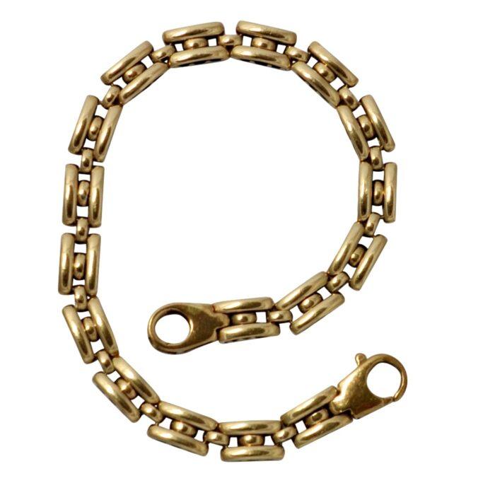 Vintage 18 carat Gold Link Bracelet