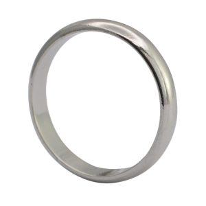Vintage Platinum 3.7mm Wedding Ring