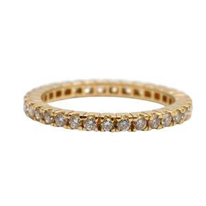 Diamond 18 Carat Gold Eternity Ring