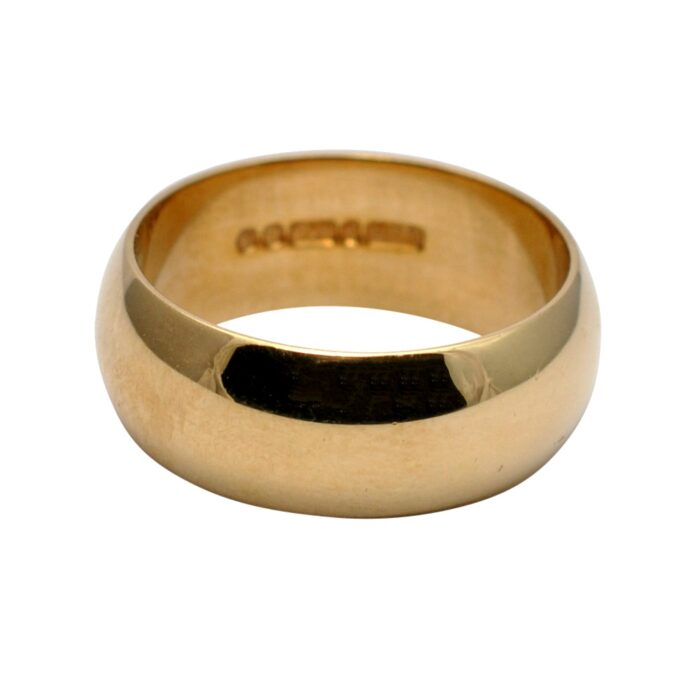 Wedding Ring in 9ct Gold by Slade & Wolfe