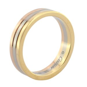 Cartier Trinity Three Colour 18ct Gold Wedding Ring