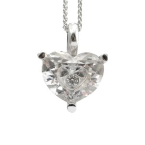 Chopard Happy Diamonds Rock Crystal Heart Pendant