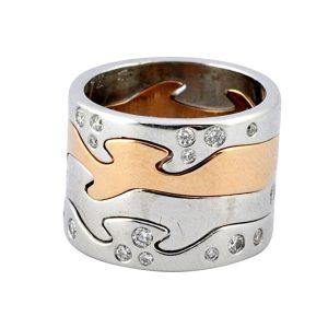 Georg Jensen Fusion 18ct Gold Ring