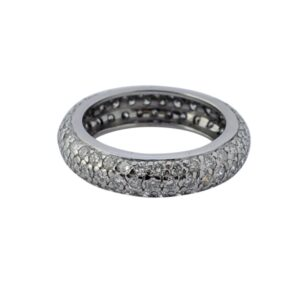 Diamond Eternity 18ct Gold Ring